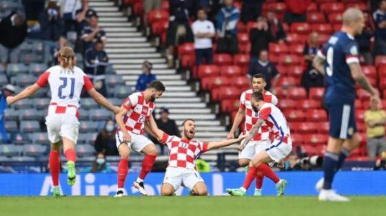 Kroasia 3-1 Skotlandia: Vatreni Lolos Otomatis ke 16 Besar Euro 2020