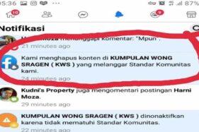 Waduh, Grup Kumpulan Wong Sragen KWS Tiba-Tiba Hilang dari Facebook