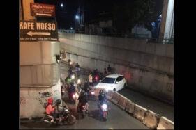 Underpass Makamhaji Sukoharjo Rawan Kecelakaan, Banyak Pengemudi Tak Melihat Beton Pembatas Jalan