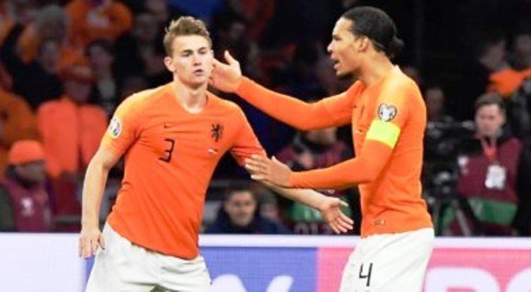 Matthijs de Ligt Cedera, Duka Belanda Jelang Euro 2020