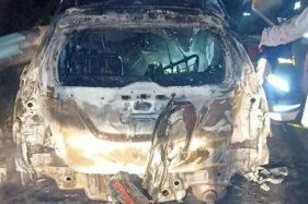 Terungkap, Ini Identitas Korban Kecelakaan dalam Mobil yang Terbakar di Tol Sragen