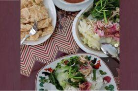 Nasi Pecel Kecombrang Khas Banyumas, Kuliner Sehat Favorit Pejabat