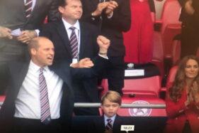 Girangnya David Beckham dan Pangeran William Jadi Saksi Kemenangan Inggris