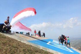 Ternyata Begini Sejarah Adanya Olahraga Gantole dan Paralayang di Wonogiri