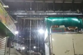 Talang Atap Pasar Gede Solo Bocor Banjiri Barang Dagangan, Sudah 5 Bulan Belum Diperbaiki