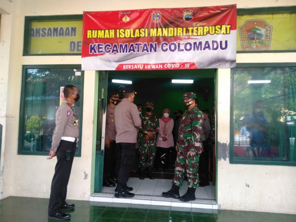 Kasus Covid-19 Merebak, Aula Kantor Desa Paulan Colomadu Dijadikan Rumah Isolasi Terpusat