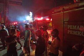 Penyebab Kebakaran Toko Besi Rojo Kawasan Tugu Lilin Pajang Solo Masih Diselidiki