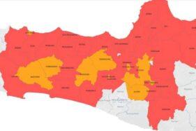 Jateng Jadi Provinsi dengan Zona Merah Paling Banyak, Ini Daftarnya