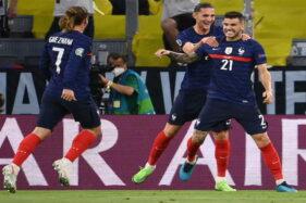 Jerman 0-1 Prancis: Gol Bunuh Diri Hummels Bikin Prancis Menang