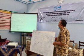Dosen PKh UNS Solo Dampingi SLB di Klaten Manfaatkan Aplikasi Braille Converter
