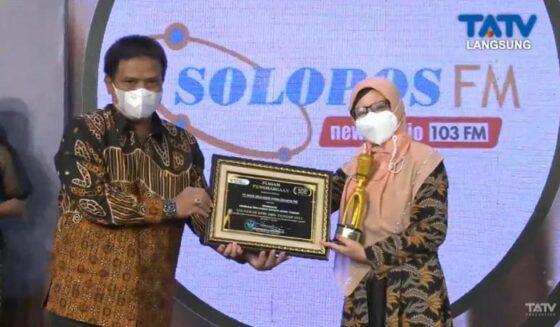 Selamat! Solopos FM Jadi Radio Swasta Terbaik di Anugerah Penyiaran Jateng 2021