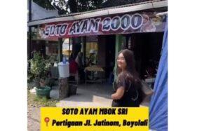 Viral Soto Ayam Murah Cuma Rp2 Ribu di Boyolali, Porsinya Imut-imut