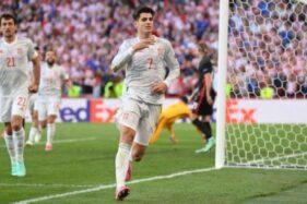Kroasia 3-5 Spanyol: Drama 8 Gol Loloskan Matador ke Perempat Final