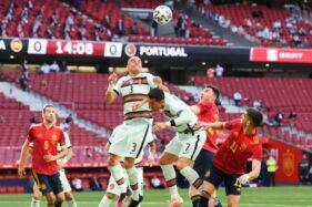 Pemanasan Euro 2020: Spanyol Vs Portugal Berakhir Kacamata