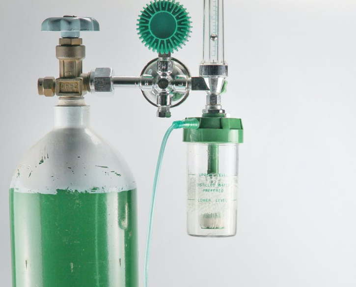Ilustrasi tabung oksigen. (theconverstaion.com)