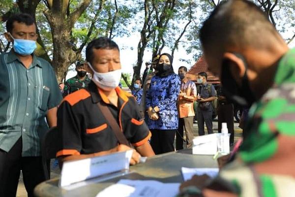 Korem 081 Dhirotsaha Jaya Targetkan 100.000 Vaksin Covid-19