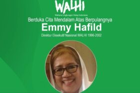 Politikus Nasdem & Pegiat Lingkungan Emmy Hafild Meninggal
