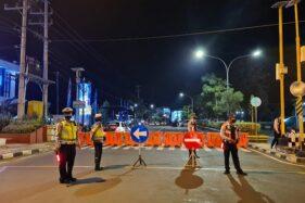 PPKM Darurat Bantul, Sejumlah Jalan Dilakukan Penutupan