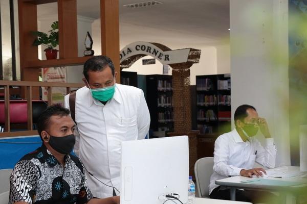 Penerimaan mahasiswa baru melalui jalur mandiri IAIN Salatiga. (Istimewa)