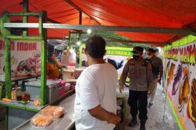 18 Pedagang Langgar Aturan PPKM di Kawasan Kuliner Colomadu, Ini Sanksinya