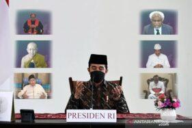 Presiden Jokowi Klaim Kasus Covid-19 Terus Menurun