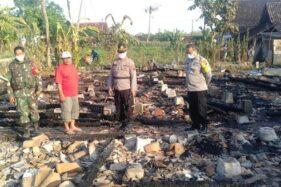 Gegara Korsleting Listrik, 4 Rumah di Ringinpitu Ludes Terbakar