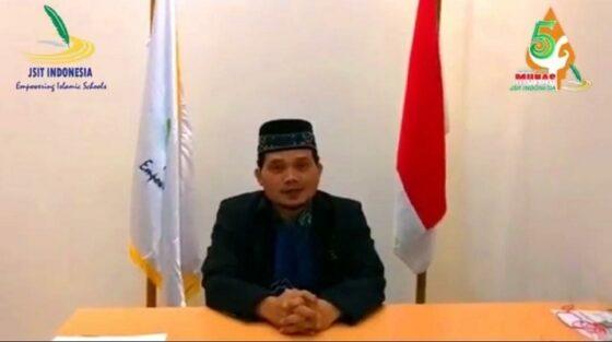 Sekretaris Jenderal JSIT Indonesia, Suhartono, M.Pd. menyampaikan penundaan Munas V JSIT Indonesia dalam siaran pers beberapa waktu lalu. (Istimewa)
