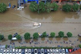 Korban Tewas Banjir di China Jadi 33 Orang