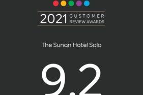 The Sunan Hotel Solo Kembali Raih Penghargaan Dari Agoda