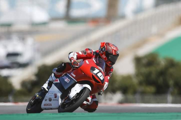 Pembalap Astra Honda Racing Team (AHRT), Mario Suryo Aji. (Istimewa)