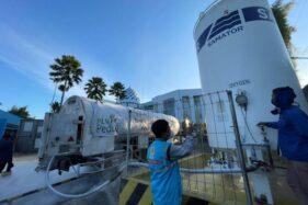 Lagi, PLN Bantu Atasi Kekurangan Oksigen Bagi Rumah Sakit di Jateng