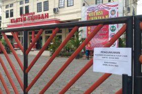 Seorang Pegawai Meninggal Terpapar Corona, Kantor Kecamatan Klaten Tengah Ditutup