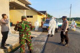 Positif Covid-19, 4 Warga Trucuk Klaten Dijemput Polisi