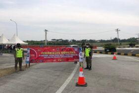 Penyekatan di 4 Exit Tol Karanganyar: Tak Bawa Surat Ini Silakan Balik Kanan