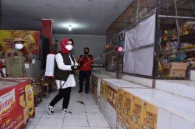 Prokes 26 Pasar Tradisional Sukoharjo Diperketat, Ada Apa Ya?