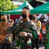 Kunjungi Solo, Kasad Jenderal TNI Andika Perkasa Beri Bantuan Beras dan Daging