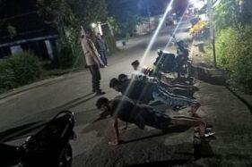 Keciduk Satgas Covid-19 Klaten, 4 Pemuda yang Mancing Tengah Malam Dihukum Push Up