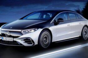 Mercedes-Benz EQS Bersistem Roda Kemudi 10 Derajat