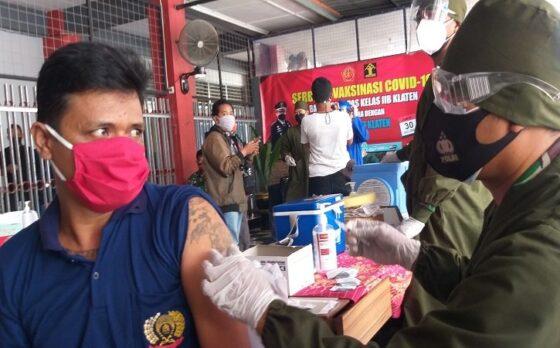 Cerita Unik Napi di Klaten, Bertato Tapi Takut Disuntik Vaksin