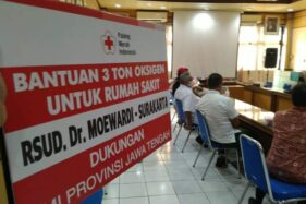 PMI Jateng Bantu 8 Ton Oksigen untuk 3 Rumah Sakit di Solo