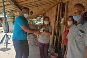 Wow! 6.000 Ekor Ayam Disalurkan kepada Warga Sragen Terdampak Pandemi Covid-19