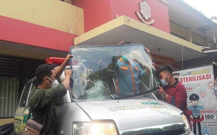 Ambulans Klaten Korban Pelemparan Sudah Beroperasi Kembali, Proses Hukum Tetap Berjalan