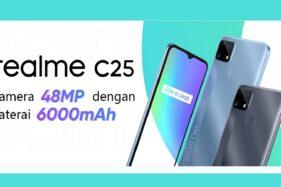 Ini Spesifikasi Realme C25, Ponsel Rp2 Jutaan Dengan Baterai Besar