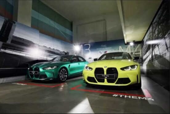 The New BMW M3 Competition dan The New BMW M4 Coupé Competition (BMW Group Indonesia)