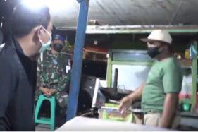 Patroli Malam Saat PPKM Darurat, Wali Kota Semarang Borong Dagangan PKL