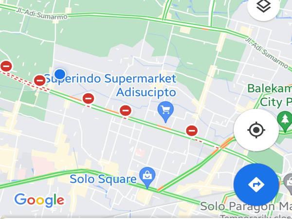 Jl Adi Sucipto Solo Resmi Ditutup 24 Jam hingga 20 Juli 2021, Ini Detailnya