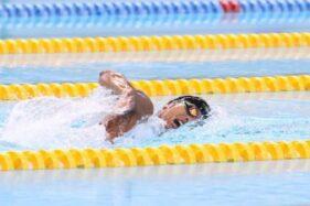 2 Atlet Indonesia Terhenti di Babak Penyisihan Renang Olimpiade Tokyo 2020