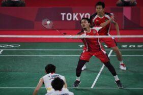 Singkirkan Jepang, Ahsan/Hendra Lolos ke Semifinal Bulu Tangkis Olimpiade Tokyo 2020