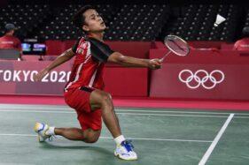 Hebat! Anthony Ginting Melaju ke Semifinal Bulu Tangkis Olimpiade Tokyo 2020