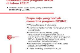 Besok Hari Terakhir Pendaftaran BPUM Rp1,2 Juta untuk Pelaku UMKM Sragen, Ini Syaratnya Lur